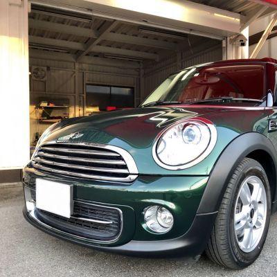 ミニ クラブマンクーパー【ブリティッシュレーシンググリーン×ブラックルーフ】ご納車
