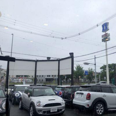 5月21日(木)大雨警報発令されております!